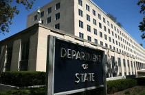 Department of State does not comment on information about Pompeo's meeting with Armenian, Azeri FMs