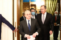 Armenia's FM to meet Russian counterpart Lavrov in Moscow today