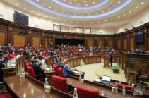Парламент Армении принял в первом чтении законопроект о налоговых льготах в период военного положения