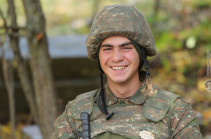Boys from the front line (photos)