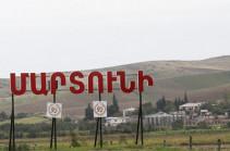 ВС Азербайджана продолжают вести артиллерийский огонь по городу Мартуни