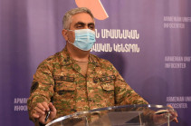 MOD representative refutes Aliyev's statement about full control of Artsakh-Iran border