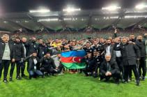 УЕФА наказал азербайджанский «Карабах» за воинское приветствие
