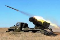 Азербайджан обстрелял из установки «Град» территорию общины Карега Кашатагского района