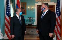 Госсекретарь США встретился с Зограбом Мнацаканяном (Видео)