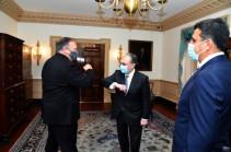 Պոմպեոն ընդգծել է ԵԱՀԿ Մինսկի խմբի շրջանակում ղարաբաղյան կարգավորման կարևորությունը