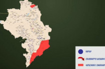 MOD representative presents interactive map of military actions (video)