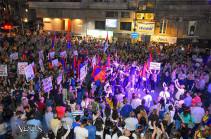 Սիրիացիները ակցիա են անցկացրել Հալեպում՝ հաջակցություն Հայաստանի