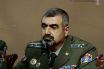 В Армении уволен командующий пограничными войсками