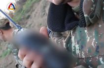 Ռադիոկապի միջոցով զինվորի քաջալերող կատարումն իր ծառայակից ընկերներին (Տեսանյութ)