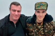 Отец Альберта Ованнисяна подарил армии свой личный автомобиль (Фото)