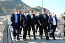 Аракчи посетил северо-западные пограничные районы в провинции Ардебиль