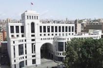 Внедрение международных верификационных механизмов в Карабахе безальтернативно - МИД Армении
