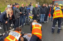 Turks attack Armenians conducting peaceful rally in France in support of Artsakh