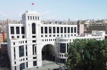 Armenia's MFA: Azerbaijani military-political leadership's attempts to kill the life in Artsakh will fail