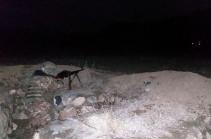 Karabakh Defense Army repels enemy's attacks, destroys enemy ammunition, manpower
