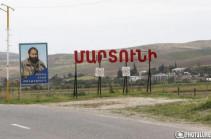 Azerbaijani side uses military aviation to shell Artsakh's Martuni