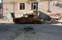 Stepanakert is being shelled with cluster bombs
