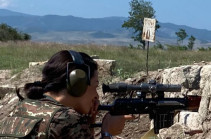 The platoon of Armenia's PM's spouse ready to fulfil military tasks in Karabakh