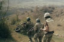 Karabakh defense army shot two vehicles transporting enemy forces, 4 UAVs