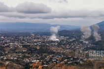 Stepanakert intensively shelled from Grad and Smerch