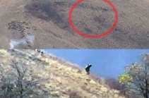 Enemy flees from Berdzor mountains (video)