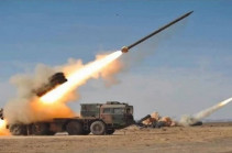 Azerbaijani forces fire several long-range cluster missiles in direction of Stepanakert
