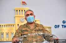 Azeri forces' attacks in directions of Martuni, Martakert, Taghavard failed – MOD representative