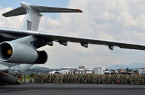 First five planes with Russian peacekeepers head to Karabakh: Russian MOD