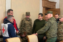 Process of exchange of bodies of killed servicemen launches in Karabakh with coordination of Russian peacekeepers