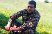 Դավիթ Ամալյանի որդին զոհվել է նոյեմբերի 7-ին՝ Շուշիի մատույցներում. նա կհուղարկավորվի Եռաբլուրում