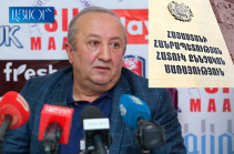 Armenia's Prosecutor General sends footage of MOD ex-official Movses Hakobyan's press conference to SIS for procedural verification of presented circumstances