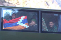 Armenian troops leave Karvachar region (video)