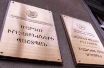 Группа оперативного реагирования омбудсмена Армении направилась в полицию в связи с задержанием Аветика Ишханяна
