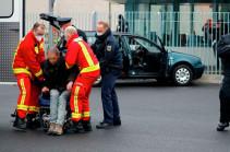 Въехавший в ворота здания офиса Меркель задержан