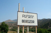 Berdzor to possibly pass to Azeri side too: Kashatagh community employee