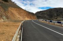 Hence entry to Artsakh possible via Berdzor-Stepanakert road