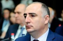 ՀՀ հատուկ քննչական ծառայության պետ Սասուն Խաչատրյանը պարգևատրվել է Մխիթար Գոշի մեդալով
