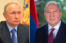 Armenia's President applies to Russia's Putin to broker in the issue of return of prisoners of war