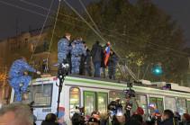 Полиция задержала 35 участников акции протеста