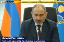 Armenia's PM stresses exclusive role of Russia's president in stopping bloodshed