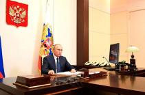 Путин заявил о последовательной реализации трехстороннего заявления по Карабаху