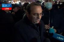 В Армении будет отстраненный конституционным путем от власти предатель, если народ проявит последовательность – Арцвик Минасян