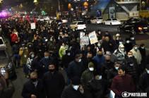 Завтра в 18:00 начнутся акции по блокированию улиц Еревана с требованием отставки Никола Пашиняна