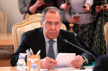 Lavrov to hold negotiations with Armenia's FM in Moscow on December 7