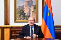 Armenia's president applies to Russia's Putin to assist in demarcation process between Armenia and Azerbaijan