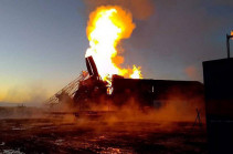 Fire breaks out at oil well in Russia's Orenburg Region