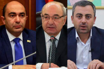Bright Armenia meets with Vazgen Manukyan, Ishkhan Saghatelyan