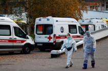 Russia reports record-high 613 daily coronavirus deaths