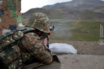 Azeri forces initiate attack on Defense Army combat position in south, wound three
